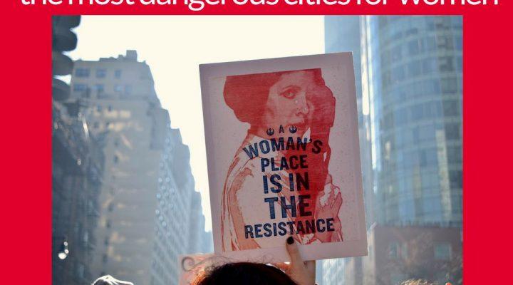 #metoo: l'elenco delle città più pericolose per una donna