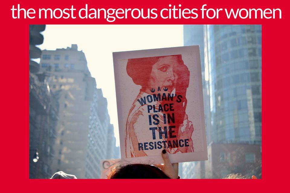 40 most dangerous cities