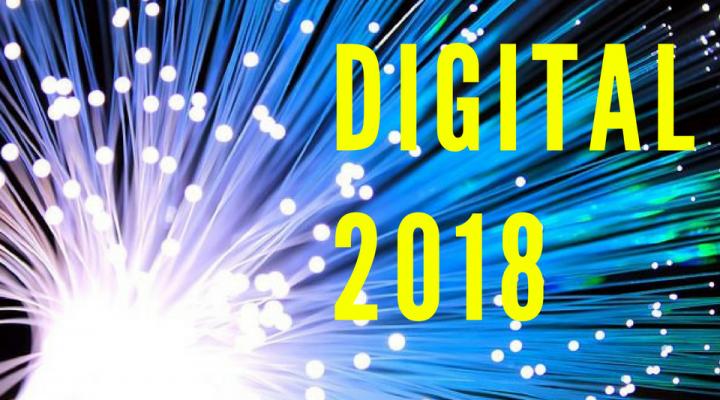 Digital in 2018: tutto ciò che c'è da sapere sul web e i social