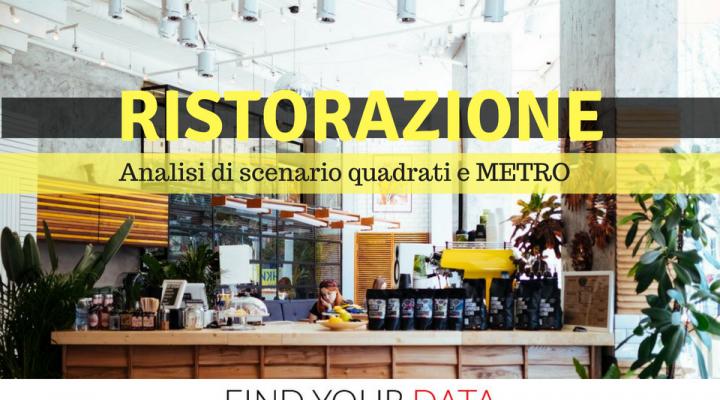 ristorazione metro squadrati