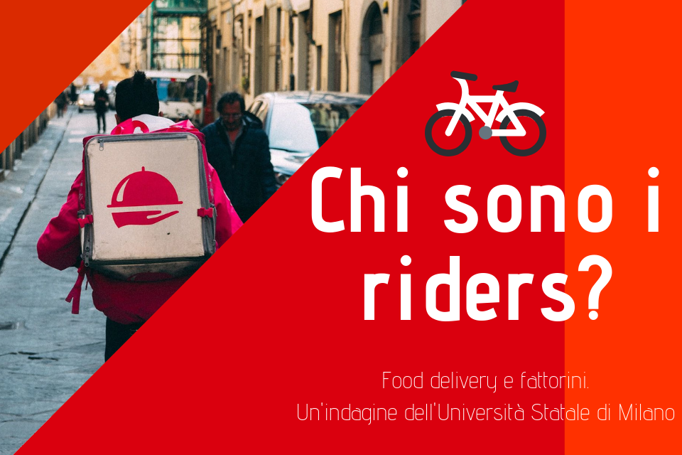 136 food delivery riders fattorini